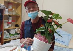 [재가복지] 전주대e복지관 노인복지팀과 함께하는 원예프로그램
